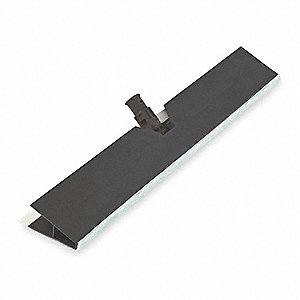 Dust Cloth Holder,Plastic,17 In,Black