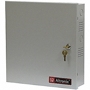 Steel Power Supply with Gray Finish