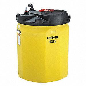 120-gal. Closed Top Vertical Double Wall Storage Tank