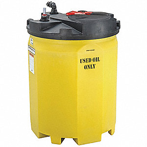 500-gal. Closed Top Vertical Double Wall Storage Tank