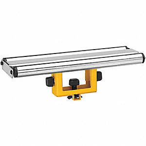 Roller Support,15 In.W,4-1/4 to 6 In.H