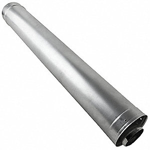 Waterheater Vent Pipe,36In L,3In Dia.