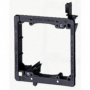 PVC Mounting Bracket, For Use With Low Voltage Class 2 Outlets