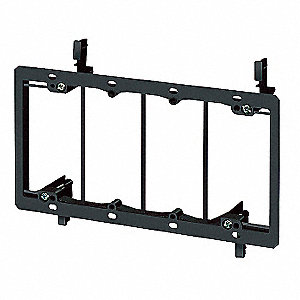 Mounting Bracket,Low Voltage,4-Gang