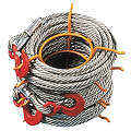 Winch Cable, Alloy Stl, 5/16 In. x 100 ft.