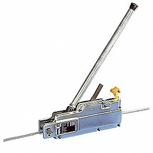 Manual Cable Hoist, 8000 lb. Lifting Capacity, 30 ft. Cable Length