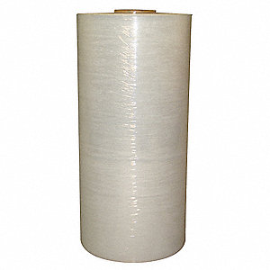 "20"" x 5000 ft. Linear Low Density Polyethylene Machine Stretch Wrap, 80 Gauge, Clear, 1EA"