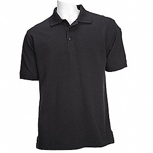 Professional Polo,Black,2XL
