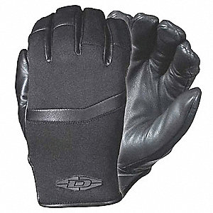Cold Protection Gloves, Unlined Lining, Neoprene Cuff, Black, XL, PR 1