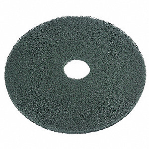 Scrubbing Pad,23 In,Green,PK5