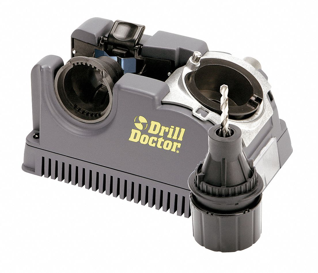 Drill Bit/End Mill Sharpener,  Mounting Type Benchtop,  Point Angle Sharpened 118°and 135°