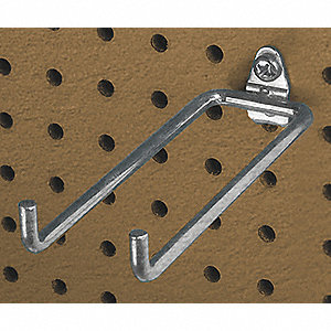 Steel Double Rod Pegboard Hook