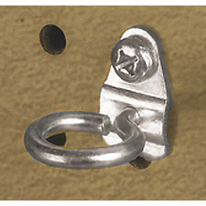 Steel Single Ring Tool Holder, Screw In Mounting Type, Silver, Finish: Bright Zinc