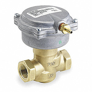 1/2 NPT 2-Way NO Globe Pneumatic Control Valve, 2.5 Cv