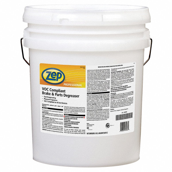 Zep Professional Brake Parts Cleaner 5 Gal Pail 6ycz7