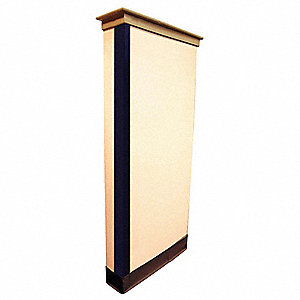 Corner Guard, Blue, 1-1/2 x 48 In.