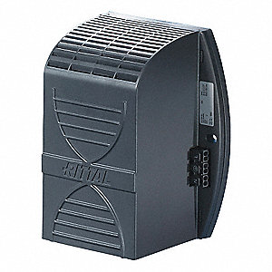 Fan Forced Enclosure Heater, Thermostat None, Watts 250, 1 Phase