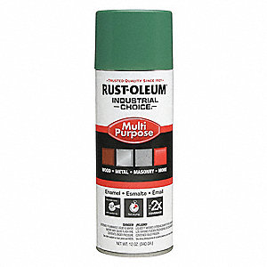 Machine Green Spray Paint, Gloss Finish, 12 oz.