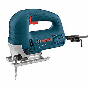 Corded Jig Saw, 6.0 Amps, T-Shank Blade Type, Top Handle Design, Orbital Cutting Action