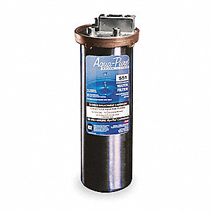 "3/8"" NPT Water Filter System, 6 gpm, 300 psi"