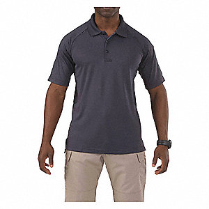 Performance Polo, Charcoal Gray, L