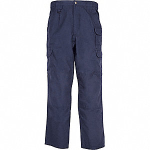 "Men's Tactical Pants, Size 34"", Color: Fire Navy"