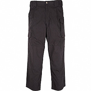 "Men's Taclite Pants. Size: 42"", Fits Waist Size: 42"", Inseam: 32"", Black"