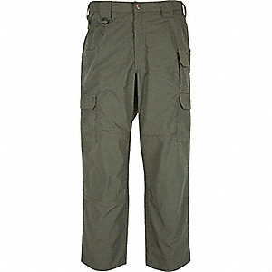 "Men's Taclite Pants. Size: 34"", Fits Waist Size: 34"", Inseam: 32"", TDU Green"