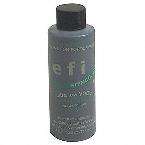 Eco Friendly Stencil Ink,4 oz,Black