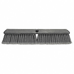 "Recycled PET Floor Brush, Block Size 24"", Foam Block Material"