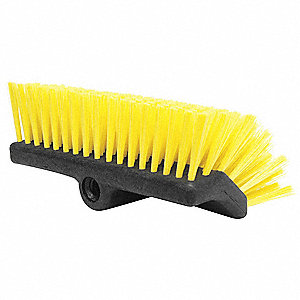 "10""L Recycled PET Replacement Brush Head Deck Brush, Not Included"