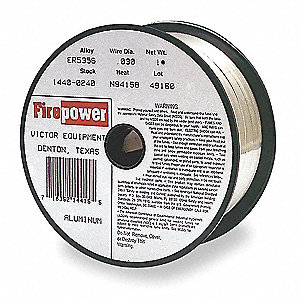 "1 lb. Aluminum Spool MIG Welding Wire with 0.030"" Diameter"