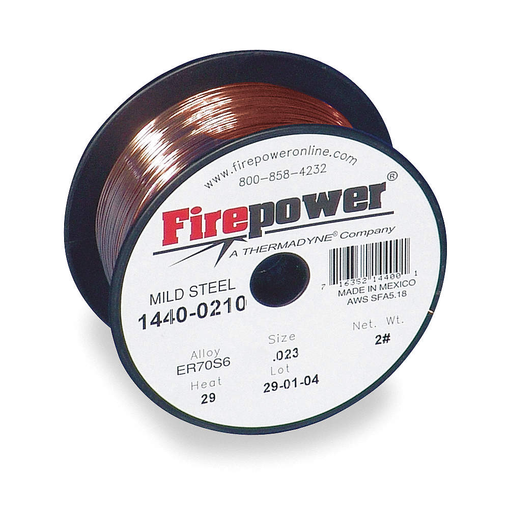 FIREPOWER 11 lb. Carbon Steel Spool MIG Welding Wire with 0.035 ...