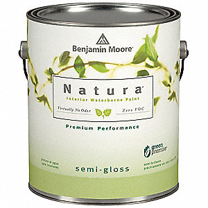 Semi-Gloss Interior Paint, Water, Captivating Teal, 1 gal.