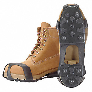 Men's Pull On Ice Traction Device, Traction Type: Stud, Fits Shoe Size: 14+