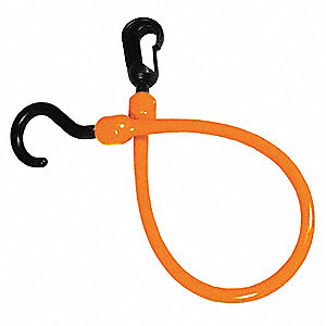 CORDE, EMBOUT FIXE, 18PO, ORANGE