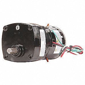 AC Gearmotor 115 Nameplate RPM 4.5 Max. Torque 100 in.-lb. Enclosure Open