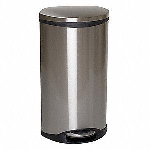 oval flat top decorative - Decorative Trash Cans
