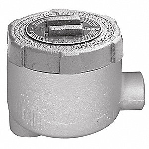 Conduit Outlet Body,LB,1/2 In.