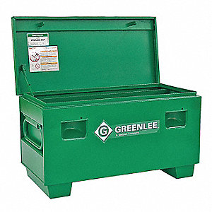 "20"" x 20"" x 42"" Jobsite Chest, 9.7 cu. ft., Green"