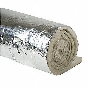 "Duct Insulation,1-1/2"" x 48"" x 25Ft"