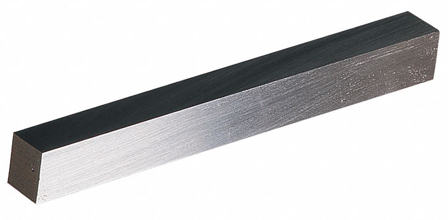 Lathe Tool Blank,  High Speed Steel,  Overall Width 3/8 in,  Overall Height 3/8 in