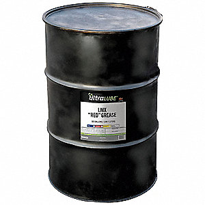 Red Lithium Complex Grease, 400 lb., NLGI Grade: 2