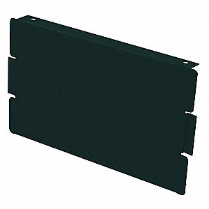 Locker End Base,D 15 In,H 6 In,Green,PK2