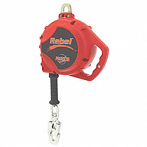 50 ft. Self-Retracting Lifeline with 420 lb. Weight Capacity, Red