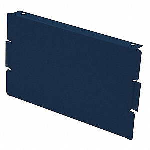 Locker End Base,D 12 In,H 6 In,Blue,PK2