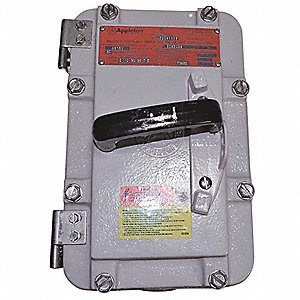 Hazardous Location Safety Switch,600VAC