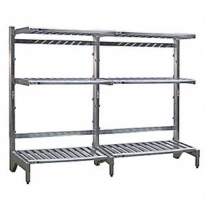 Freestanding T-Bar Shelf Cantilever Rack, No. of Sides: 1, 3 Arms, Arm Length: 18""