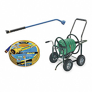 Portable Hose Cart,Steel,17 In. Dia.