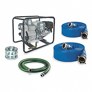 9.5 HP Aluminum 337cc Engine Driven Centrifugal Pump Kit, 6.9 qt. Tank Capacity